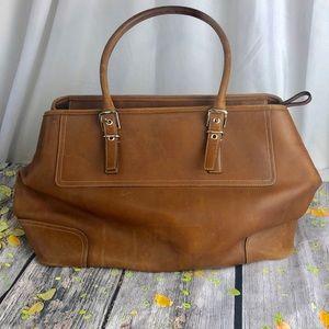 Vintage Coach Lg Carryall E04S 5131 Tan Heavy